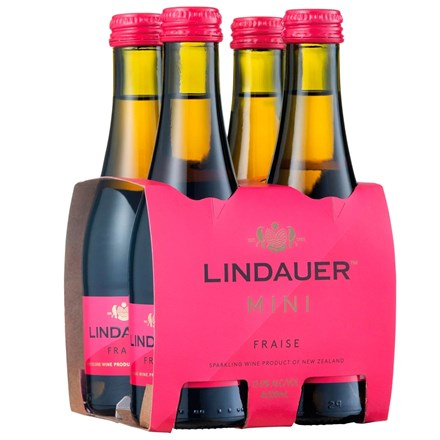 Lindauer Fraise 4pk 200ml Lindauer Fraise 4pk 200ml