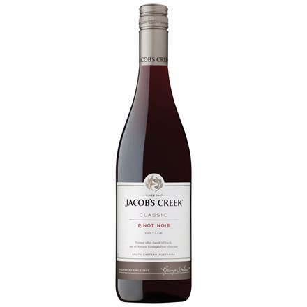 JACOBS CREEK CLASSIC PINOT NOIR 750ML JACOBS CREEK CLASSIC PINOT NOIR 750ML