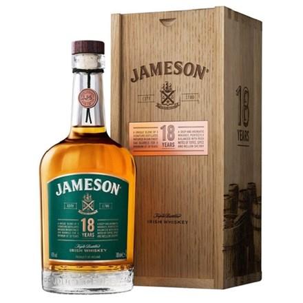 Jameson 18yo Irish Whiskey 700ml Jameson 18yo Irish Whiskey 700ml