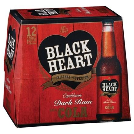 Black Heart 12pk btls Black Heart 12pk btls