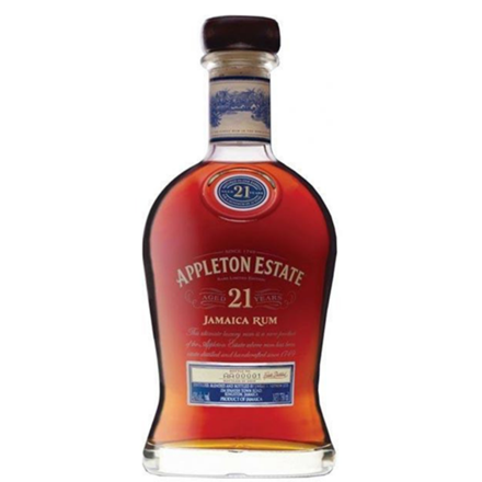 APPLETON  ESTATE 21 YEARS RUM 700ML APPLETON  ESTATE 21 YEARS RUM 700ML