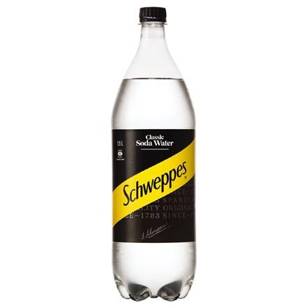 schweppes soda water 1.5 Ltr schweppes soda water 1.5 Ltr