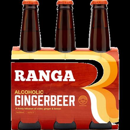 RANGA 6 PACK ALCOHOLIC GINGER BEER RANGA 6 PACK ALCOHOLIC GINGER BEER