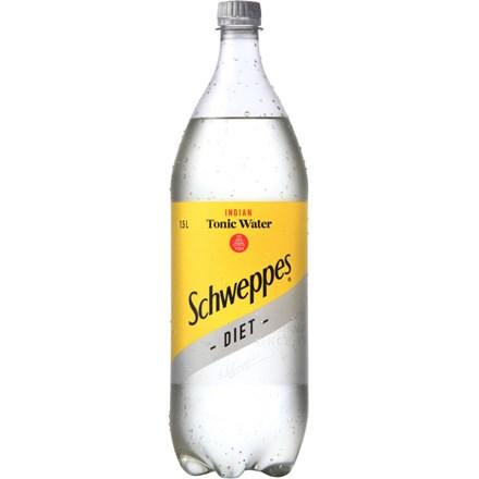 schweppes diet Tonic Water 1.5L schweppes diet Tonic Water 1.5L