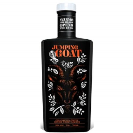 JUMPING GOAT WHISKY COFFEE LIQUEUR 700ML JUMPING GOAT WHISKY COFFEE LIQUEUR 700ML