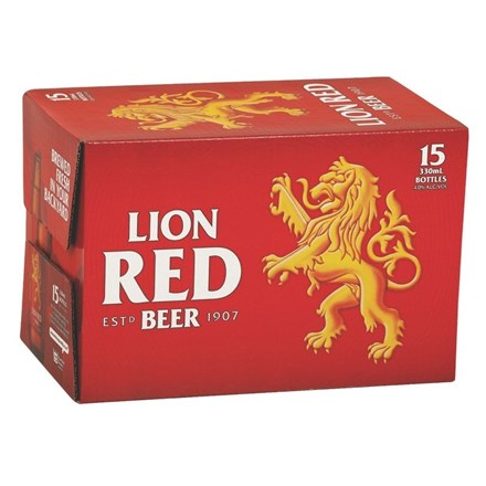 LION RED 15PK LION RED 15PK