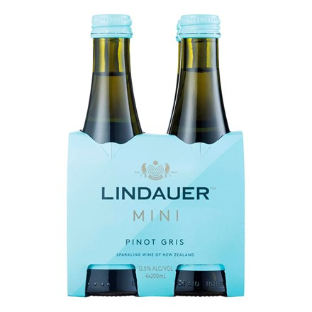 Lindauer Pinot Gris 4pk 200ml Lindauer Pinot Gris 4pk 200ml