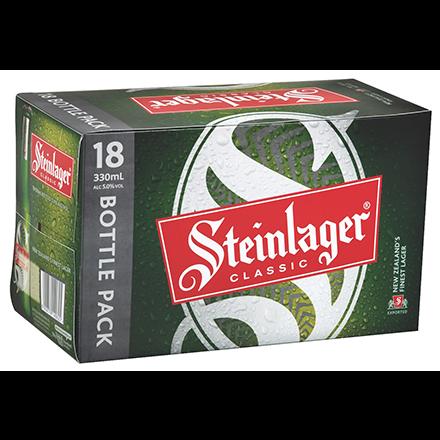 Steinlager Classic 15 Pack Bottles 330ml Steinlager Classic 15 Pack Bottles 330ml