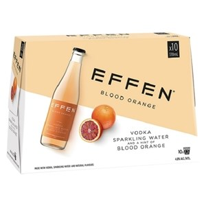 EFFEN BLOOD ORANGE 10 PACK BOTTLES EFFEN BLOOD ORANGE 10 PACK BOTTLES