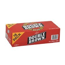 DOUBLE BROWN 18PK CAN DOUBLE BROWN 18PK CAN