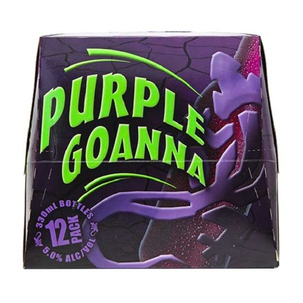 Purple Goanna 5% 12pk Bottles Purple Goanna 5% 12pk Bottles
