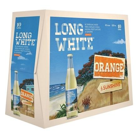 LONG WHITE ORANGE 10PK BTLS LONG WHITE ORANGE 10PK BTLS