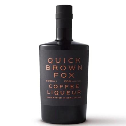 QUICK BROWN FOX COFFEE LIQUEUR 500ML QUICK BROWN FOX COFFEE LIQUEUR 500ML