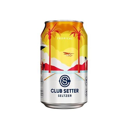 CLUB SETTER TROPICAL 10 X 330ML CANS CLUB SETTER TROPICAL 10 X 330ML CANS