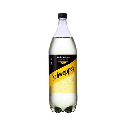 schweppes soda water twist of lemon 1.5 Ltr schweppes soda water twist of lemon 1.5 Ltr
