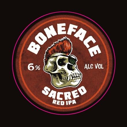 Boneface Sacred IPA 6pk 330ml Boneface Sacred IPA 6pk 330ml