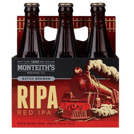 MONTEITHS RIPA RED IPA 6PK MONTEITHS RIPA RED IPA 6PK