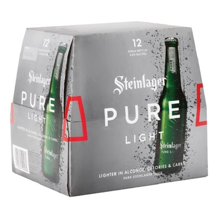 STEINLAGER PURE LIGHT 12 PK STEINLAGER PURE LIGHT 12 PK