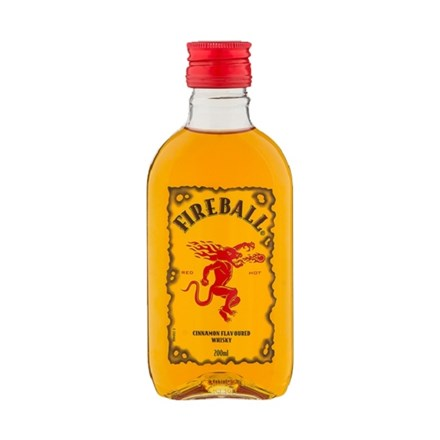 FIREBALL CINNAMON WHISKY 200ML FIREBALL CINNAMON WHISKY 200ML