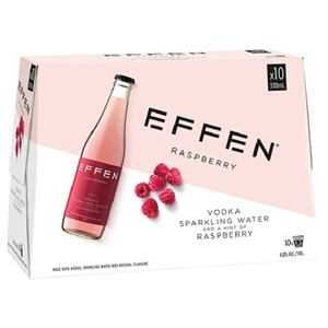 EFFEN RASPBERRY 10 PACK BOTTLES EFFEN RASPBERRY 10 PACK BOTTLES