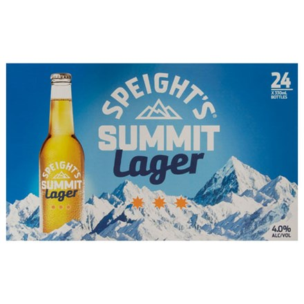 SPEIGHT'S SUMMIT LAGER 24PK BTLS SPEIGHT'S SUMMIT LAGER 24PK BTLS