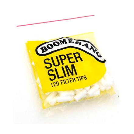 Boomerang Super Slim Filter Tips Boomerang Super Slim Filter Tips