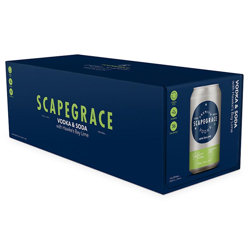 scapegrace 10 pk cans lime scapegrace 10 pk cans lime