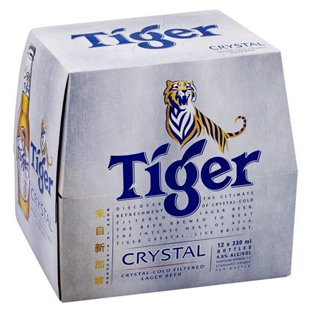 TIGER CRYSTAL 12PK BTLS TIGER CRYSTAL 12 PK