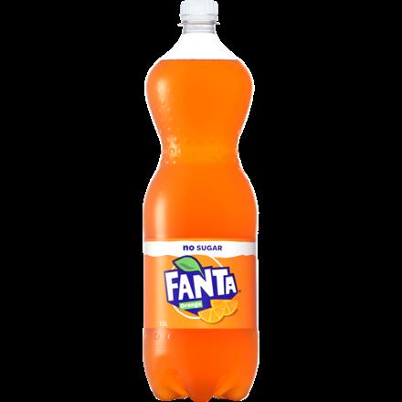 Fanta No sugar 1.5 Ltr Fanta No sugar 1.5 Ltr