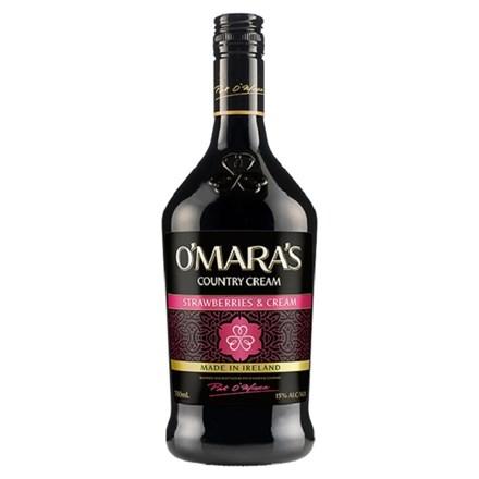 OMARA'S STRAWBERRIES & CREAM 700ML OMARA'S STRAWBERRIES & CREAM 700ML