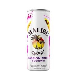 MALIBU PASSIONFRUIT 4X250ML CANS MALIBU PASSIONFRUIT 4X250ML CANS