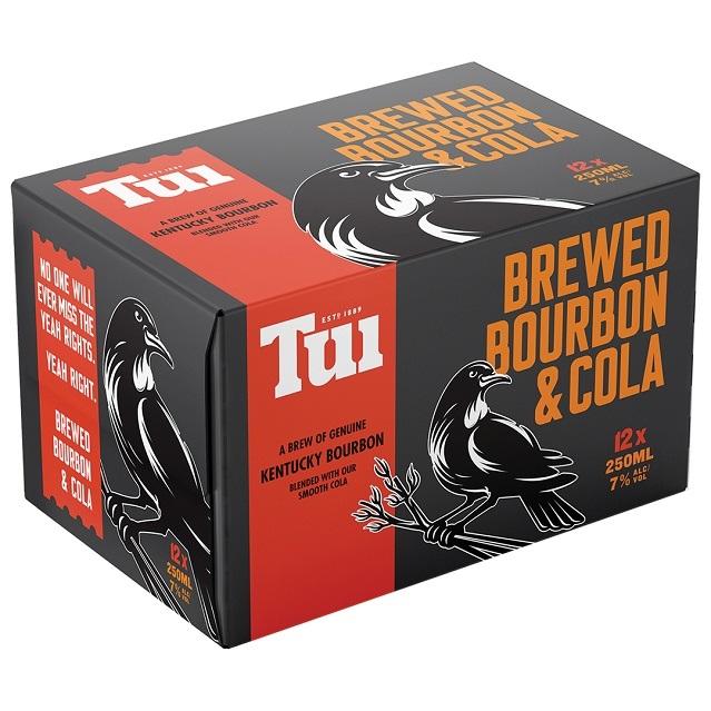 TUI BOURBON 12PK 250ML CANS TUI BOURBON 12PK 250ML CANS