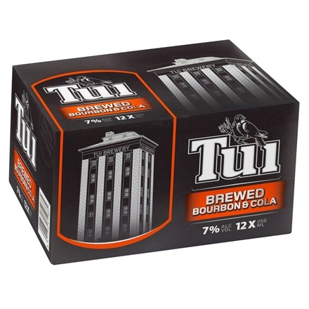 TUI BOURBON 12PK 250ML CANS TUI BOURBON 12PK 250ML CANS