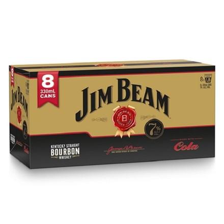 JIM BEAM GOLD 7% 8PK CANS JIM BEAM GOLD 7% 8PK CANS