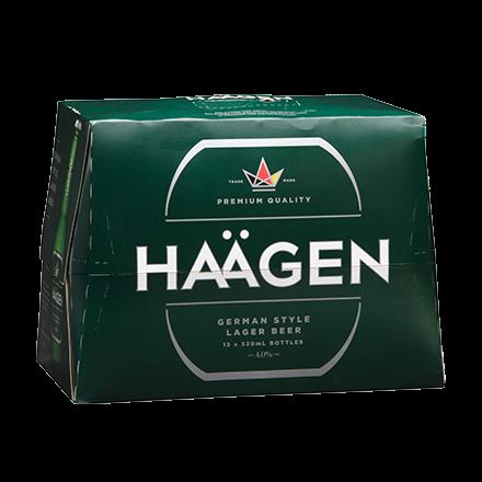 Haagen Lager 15 Pack Bottles 330ml Haagen Lager 15 Pack Bottles 330ml
