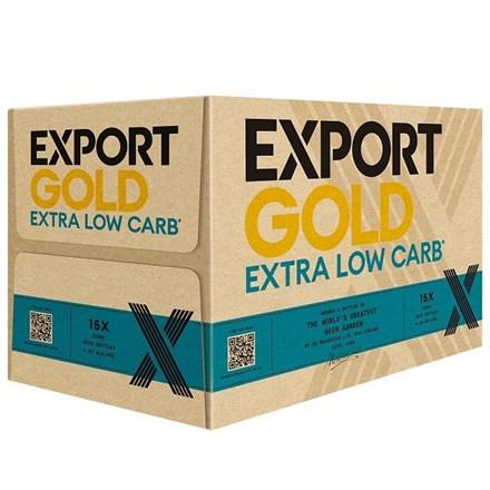 Export Gold Low Carbs 15pk Btls Export Gold Low Carbs 15pk Btls