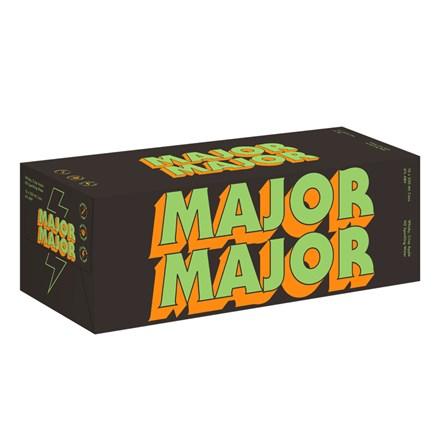 MAJOR MAJOR WHISKY APPLE 10X330ML CANS MAJOR MAJOR WHISKY APPLE 10X330ML CANS