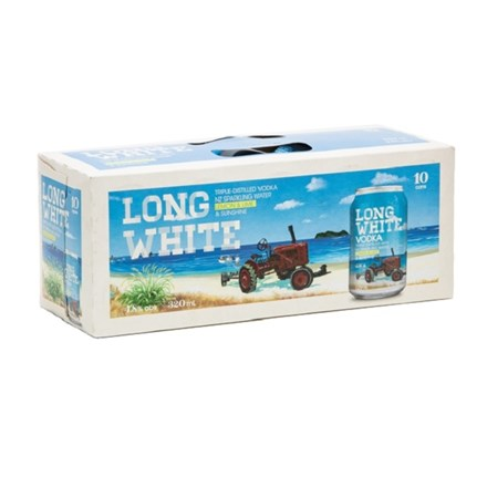 LONG WHITE LEMON 10PK CANS LONG WHITE LEMON 10PK CANS