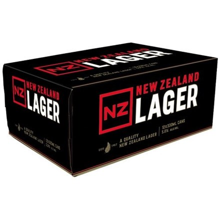NZ LAGER 12PK CAN NZ LAGER 12PK CAN