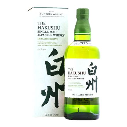 THE HAKUSHU JAPANESE WHISKY 700ML THE HAKUSHU JAPANESE WHISKY 700ML
