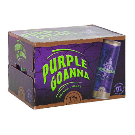 Purple Goana 7% 12pk Cans Purple Goana 7% 12pk Cans