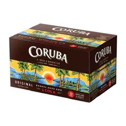 Coruba 12pk cans 5% Coruba 12pk cans 5%