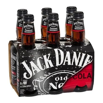 Jack Daniel 6pk Bottles Jack Daniel 6pk Bottles