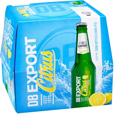 EXPORT CITRUS WITH LEMON JUICE 12 PK EXPORT CITRUS WITH LEMON JUICE 12 PK