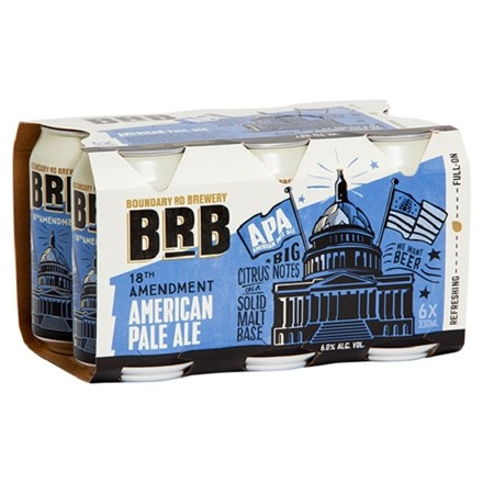 BRB AMERICAN PALE ALE 6PK CAN BRB AMERICAN PALE ALE 6PK CAN