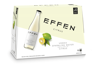 EFFEN CITRUS 10 PACK BOTTLES EFFEN CITRUS 10 PACK BOTTLES