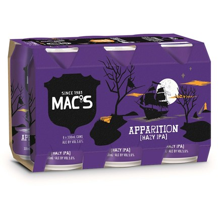Macs Apparition 4x6pk 330ml Macs Apparition 4x6pk 330ml